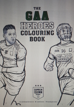New GAA Colouring Book !